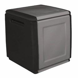 Art plast - Baule Multiuso Grigio Sc-Nero 540x530xh570mm