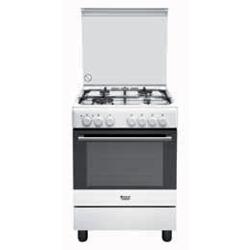 Hotpoint Ariston Cucine H6TMH2AF (W) IT Libera installazione Piano ...