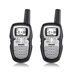Brondi - FX Compact Sport S 8channels 446 - 446.1MHz Nero, Acciaio inossidabile ricetrasmittente
