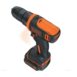 BLACK&DECKER - TRAPANO AVVITATORE COM.10.8VLITIO 1,5