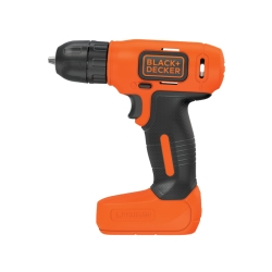 BLACK&DECKER - TRAPANO- AVVITATORE .7,2V LITIO 1,5AH
