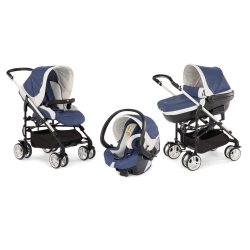 Chicco - TRIO MY CITY+KIT CAR BLUE
