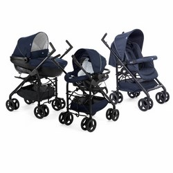 Chicco - TRIO SPRINT +KIT CAR BLU