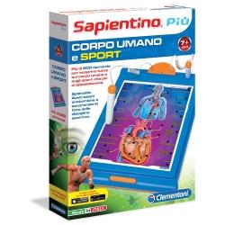Clementoni - SAPIENTINO PIU' CORPO UMANO-SPORT
