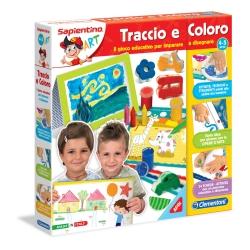 Clementoni - TRACCIO E COLORO