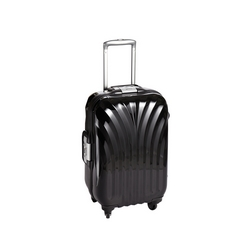 G - CASA COLLECTION TROLLEY ABS SUPER LEGGERO BLACK  CM. 55
