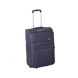 CASA COLLECTION - CASA COLLECTION TROLLEY IN POLIESTERE 59 CM  BLU SCURO