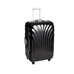 CASA COLLECTION - TROLLEY ABS SUPER LEGGERO BLACK  CM. 65