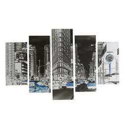CASA COLLECTION - CANVAS 5 TELE MANHATTAN