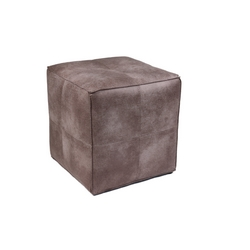 CASA COLLECTION - POUF CUBO SILVER