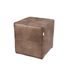 CASA COLLECTION - POUF CUBO BEIGE
