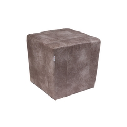 CASA COLLECTION - POUF LIVING SILVER