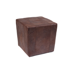 CASA COLLECTION - POUF LIVING MARRONE