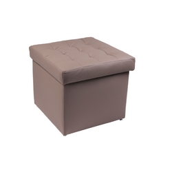 CASA COLLECTION - POUFQUADRO LUCIDO TORTORA