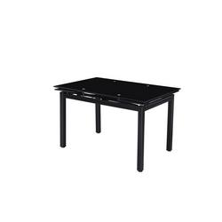 CASA COLLECTION - Tavolo Best vetro nero