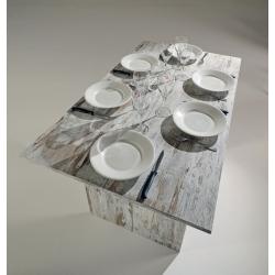 G - EL530 VIN 2leg(s) Casa Rettangolare Tavolo allungabile tavolo da cucina e sala da pranzo