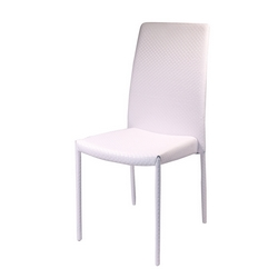 G - SEDIA PVC NEW CHELLE BIANCA