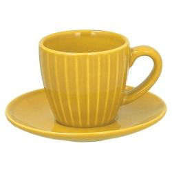 CASA COLLECTION - Confezione 6 Tazze Caff È con Piatto Djerba