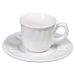 G - TAZZA CAFFE CON PIATTO AVIGNONE STONEWARE