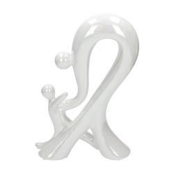 Andrea Fontebasso - Statuina Mon Amour Bianco statuetta e statua ornamentale