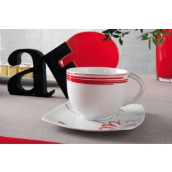 Andrea Fontebasso - TAZZA LATTE  CON PIATTINO 4513 MOULIN ROUGE