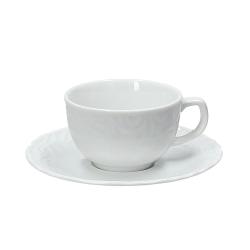 Andrea Fontebasso - Tazza Caffe' con piatto Divina Bianco bicchiere e tazza
