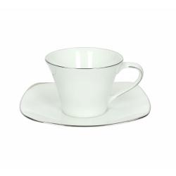 Andrea Fontebasso - Tazza The' Con Piatto Decorato 4520 Profili bicchiere e tazza