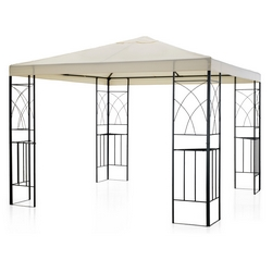 GARDEN COLLECTION - GAZEBO ACC.3X3 POLIES. ECRU