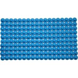G - TAPPETINO ANTISCIVOLO VASCA MASSAGE BLU PVC