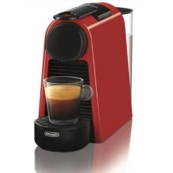 DeLonghi - EN 85.R Libera installazione Automatica Macchina per caffè con capsule 0.6L Nero, Rosso macchina per caffè
