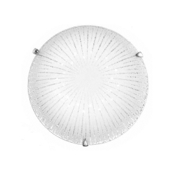 FAN EUROPE - PLAFONIERA D40 24W LED CHANTAL BIANCA