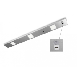 FAN EUROPE - BARRE LED SWITCH SILVER