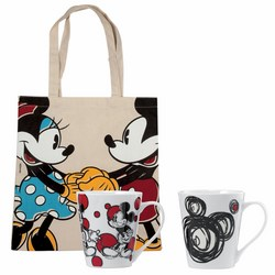 FORMA ITALIA - SET 2 MUG CON SHOPPER DISNEY