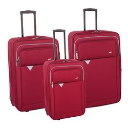 G - 17N022 TROLLEY 60X40X20 POLIESTERE ROSSO
