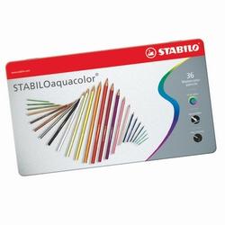 STABILO - scatola metallo 36 matite aquacolor