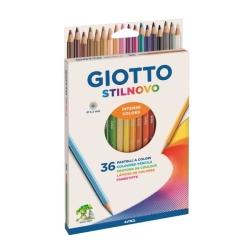 Giotto - 36 pz pastelli giotto stilnovo