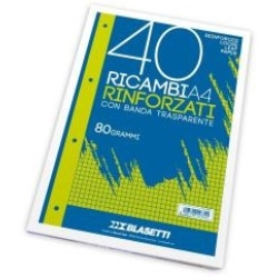 BLASETTI - CONF.40FF RIC.RINF.80GR A4 A