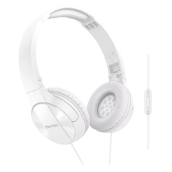 Pioneer - SE-MJ503T-W Padiglione auricolare Stereofonico Cablato Bianco auricolare per telefono cellulare