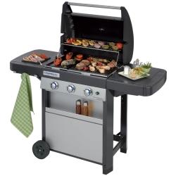 G - 3 Series Classic L Barbecue Zona cottura Gas 9600W Nero, Grigio
