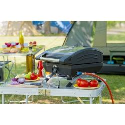 G - 2000020468 Barbecue Da tavolo Gas 2500W Nero barbecue e bistecchiera