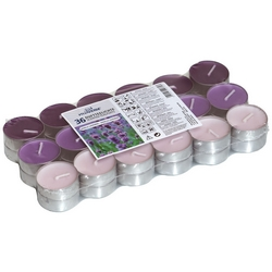 G - SET 36 T/LIGHT PROFUMATI VANIGLIA/LAVANDA