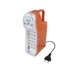 G - Lampada Portatile 3 LED, Torcia + 18 LED