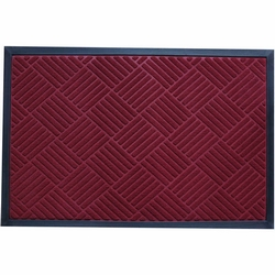 G - ZERBINO NEEDLE TILES BORDEAUX PVC