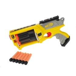 Hasbro - N-Strike Maverick Rev-6 Pistola