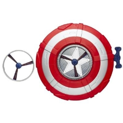 Hasbro - Marvel Avengers Age Of Ultron Captain America Star Launch Shield Occupazioni