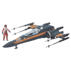 Hasbro - Star Wars The Force Awakens 3.75-Inch Vehicle Poe Dameron's X-Wing