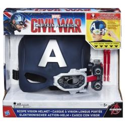 Hasbro - ELMETTO ELETTR.CAP.AMERICA