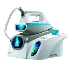 Imetec - Intellivapor Expert 2500 2000W 0.5L Acciaio inossidabile Blu, Grigio, Bianco