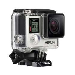 GoPro - ACTION CAM HERO 4 SILVER EDITION