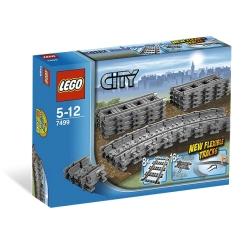 Lego - CITY BINARI FLESSIBILI E RETTILINEI